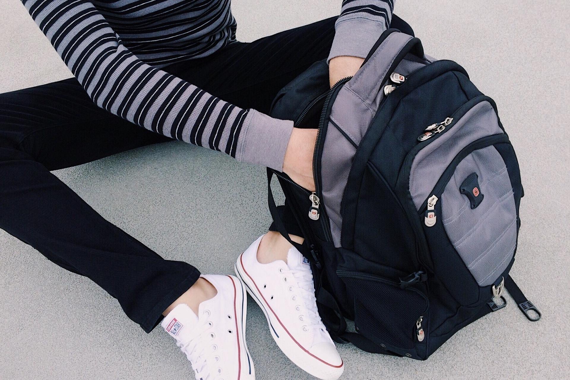 mochila para el instituto